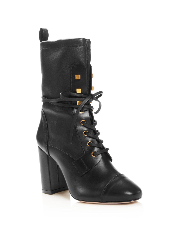 Stuart Weitzman Women's Veruka Lace-Up Boot