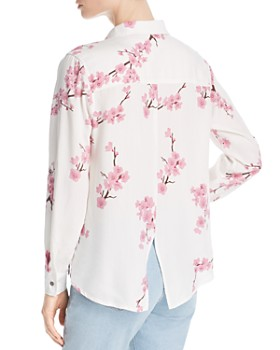 Billy T - Cherry Blossom Button-Down Top