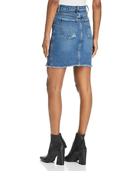 Nobody - Siren Denim Skirt in Loud