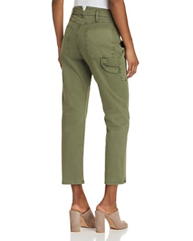 Hudson - Leverage High Rise Cargo Pants in Forester