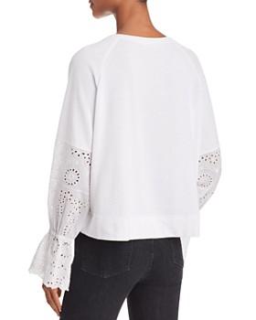 Generation Love - Penelope Eyelet-Sleeve Sweatshirt