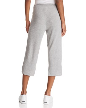 CHASER - Step-Hem Cropped Sweatpants - 100% Exclusive