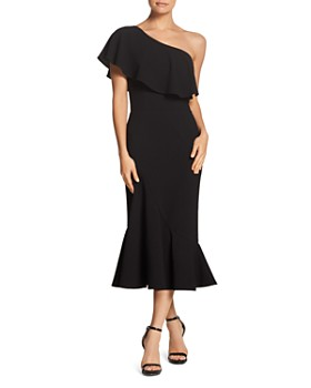 Dress the Population - Raquel One-Shoulder Dress