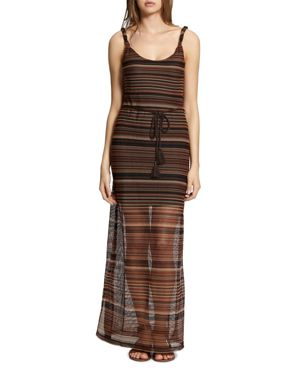 HORIZON STRIPED MAXI DRESS