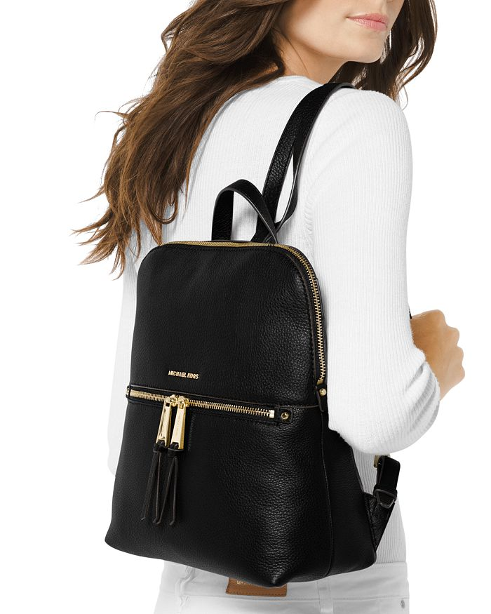 a3ee2a8e899dd MICHAEL Michael Kors - Rhea Medium Zip Leather Backpack