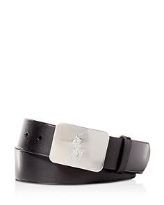 Polo Ralph Lauren Vaccetta Leather Belt - Bloomingdale's_0