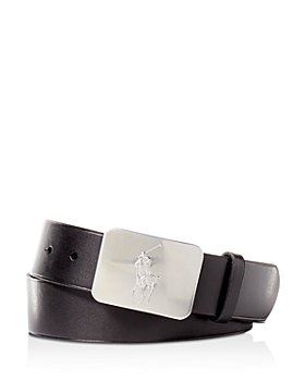 Polo Ralph Lauren - Polo Ralph Lauren Vaccetta Leather Belt