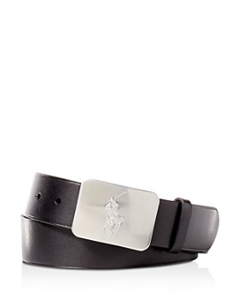 Polo Ralph Lauren - Polo Ralph Lauren Vaccetta Leather Belt
