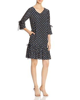 Lafayette 148 New York - Anagrace Geometric-Print Silk Dress