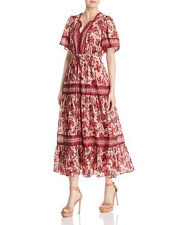 10f4f73ed425 kate spade new york - Paisley Blossom Print Midi Dress