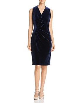 Elie Tahari - Dolly Velvet Sheath Dress - 100% Exclusive