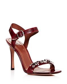 COACH - Women's Bonnie Leather High-Heel Sandals