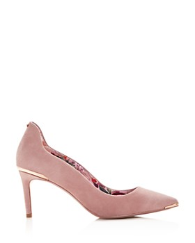 Ted Baker - Women's Vixyns Suede Pointed Toe Pumps