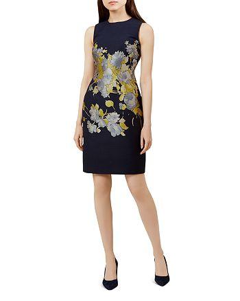 HOBBS LONDON - Queen Anne Floral Sheath Dress