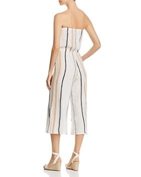 Elan - Striped Strapless Jumpsuit