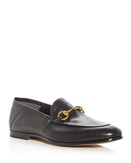 Gucci - Men's Brixton Leather Apron Toe Loafers
