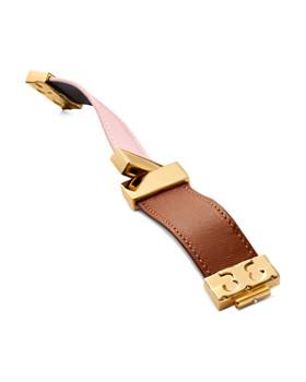 Tory Burch - Color-Block Reversible Leather Bracelet