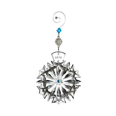 Waterford Snowflake Wishes Happiness Ornament, 2018 - Bloomingdale's_0