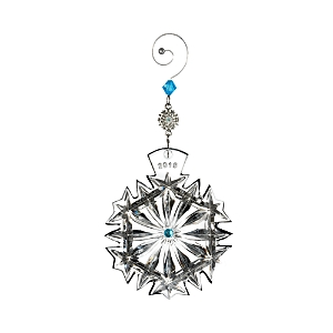 Waterford Snowflake Wishes Happiness Ornament, 2018