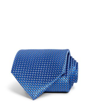THE MEN'S STORE AT BLOOMINGDALE'S MICRO GEOMETRIC CLASSIC TIE - 100% EXCLUSIVE