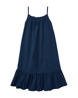 Polo Ralph Lauren Girls Ruffled Seersucker Dress  Big Kid