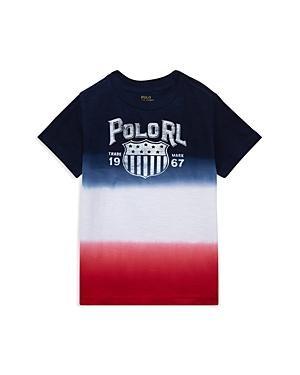 Polo Ralph Lauren Boys Jersey Ombre Tee  Little Kid