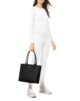 0abff95d5ca5 ... MICHAEL Michael Kors - Maddie Large Leather Pocket Tote