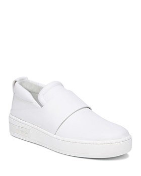 Via Spiga - Women's Ryder Leather Slip-On Sneakers