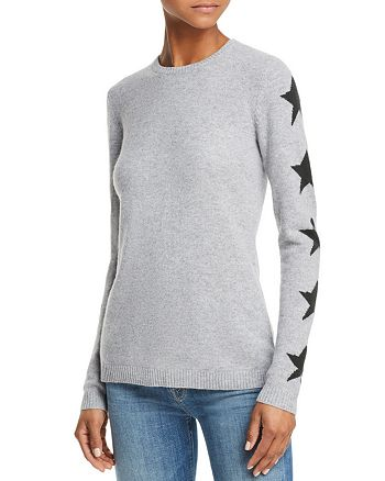 526bb4788e AQUA - Star-Sleeve Cashmere Sweater - 100% Exclusive
