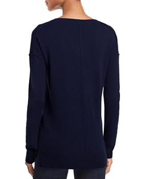 AQUA - High/Low Cashmere Sweater - 100% Exclusive