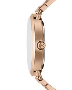 Michael Kors - Rose Gold-Tone Portia Watch, 36.5mm