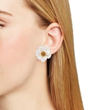 kate spade new york - Floral Stud Earrings