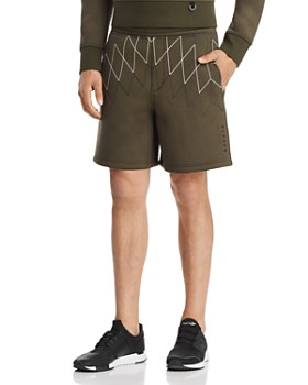 BLACKBARRETT by Neil Barrett - Football Net Sweat Shorts