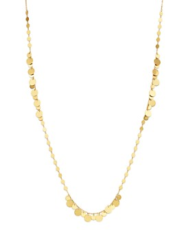 """Moon & Meadow - Disc Chain Necklace in 14K Yellow Gold, 24"""" - 100% Exclusive"""