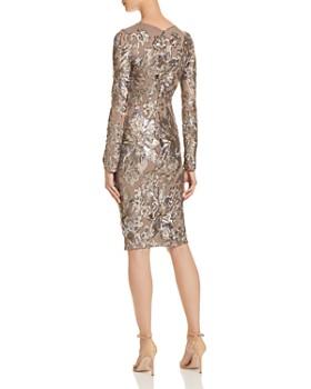 AQUA - Sequined Cocktail Dress - 100% Exclusive