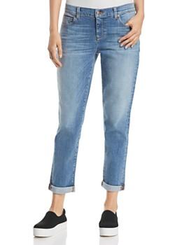 Eileen Fisher - Boyfriend Jeans in Sky Blue