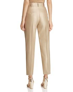Emporio Armani - Cropped Metallic Pants