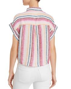 Rails - Amelie Tie-Front Striped Shirt