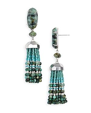 Kendra Scott Dove Tassel Drop Earrings