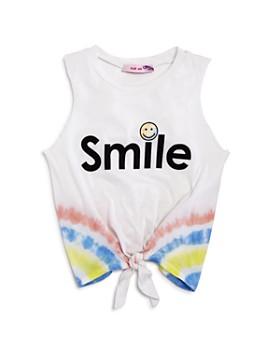Play Six - Girls' Tie-Dye Smile Tank - Little Kid