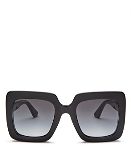 Gucci - Women's Rectangular Sunglasses, 53mm