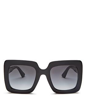 Gucci - Women's Rectangular Sunglasses, 53mm