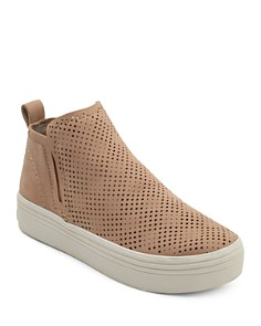 Dolce Vita - Women's Tate Perforated Leather Slip-On Sneakers