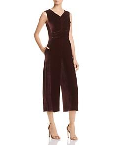 Rebecca Taylor - Cropped Velvet Jumpsuit - 100% Exclusive