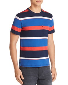 Levi's Sunset Striped Pocket Tee - Bloomingdale's_0