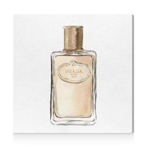 Oliver Gal Golden Crystal Bottle Wall Art, 12 x 12
