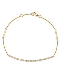 Bloomingdale's - Diamond Bracelet in 14K Gold