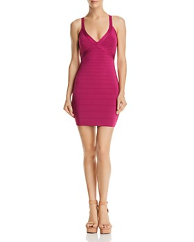GUESS - Mirage Cage-Back Dress