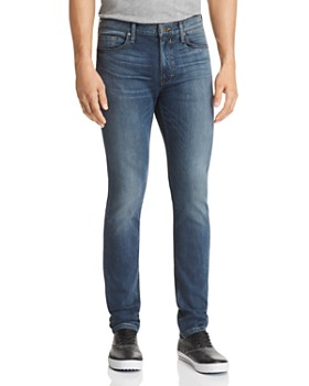 PAIGE - Lennox Skinny Fit Jeans in Dustin