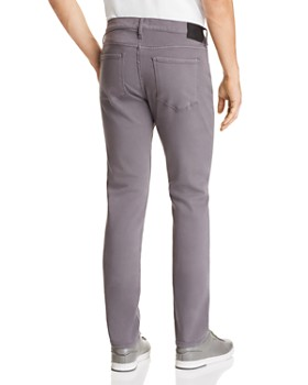 PAIGE - Federal Slim Fit Jeans in Grey Fog